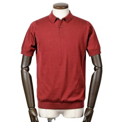 ジョンスメドレーJOHNSMEDLEYシーアイランドコットン30ゲージ半袖ニットポロシャツ「RHODES」