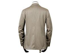ラルディーニLARDINI/ウールソラーロストライプ3Bスーツ「JR0823AQ」