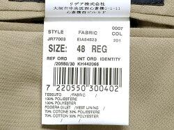 ラルディーニLARDINI/【国内正規品】ポリエステルレノクロスストライプシングルジレ「JR77003」