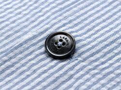 ラルディーニLARDINI/【国内正規品】製品洗いコットンシアサッカーストライプ2Bシャツジャケット「AMA」