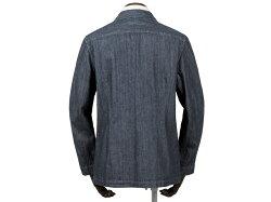 ラルディーニLARDINI/【国内正規品】製品洗いコットンデニム2Bシャツジャケット「AMA」