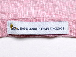 マリオムスカリエッロMarioMuscariello/【国内正規品】製品洗いリネンポプリンカプリシャツ「CAPRI3/4WASHED」