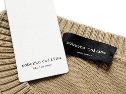 ロベルトコリーナrobertocollinaドライコットン12ゲージクルーネックニット「RC08001」