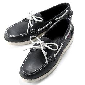 【SALE】セバゴ SEBAGO / 【国内正規品】 / 20SS!レザーデッキシューズ「PORTLAND」(BLUE NAVY/ダークネイビー)/ メンズ 靴 革靴 レザーシューズ モカシン アメリカ ドッグサイド ポートランド
