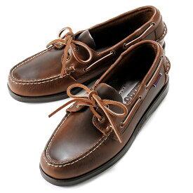 【SALE】セバゴ SEBAGO / 【国内正規品】 / 20SS!ワックスレザーデッキシューズ「PORTLAND WAXED」(BROWN/ブラウン)/ メンズ 靴 革靴 レザーシューズ モカシン アメリカ ドッグサイド ポートランド
