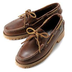 【SALE】セバゴ SEBAGO / 【国内正規品】 / 20SS!ワックスレザーレンジャーモカシン「RANGER WAXY」(BROWN/ブラウン)/ メンズ 靴 革靴 デッキシューズ モカシン アメリカ キャンプサイド レンジャー