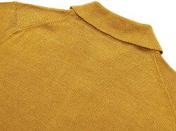 サンモリッツS.MORITZリネンハイゲージ半袖ニットポロシャツ「X38698」