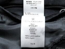 タリアトーレTAGLIATORE/【国内正規品】ラムスエードシングルライダースジャケット「STANLEY」
