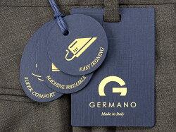 ジェルマーノGERMANO21SS!ウォッシャブルウールストレッチトロピカル1プリーツパンツ「321G-2604(TRAVEL)」