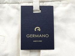 ジェルマーノGERMANO製品染めコットンストレッチギャバジン1プリーツパンツ「521G-2902」