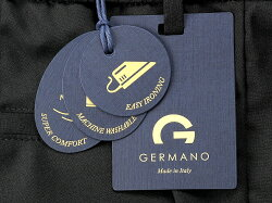 ジェルマーノGERMANO21SS!ウォッシャブルウールストレッチトロピカル1プリーツドローコードパンツ「323G-2604(TRAVEL)」