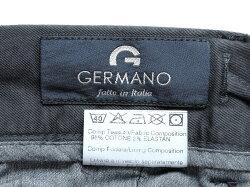 ジェルマーノGERMANO製品染めコットンストレッチギャバジン1プリーツドローコードショーツ「59HG-2902」