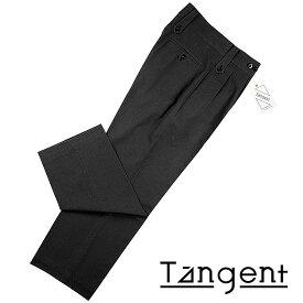 タンジェント Tangent / 【国内正規品】 / 21SS!コットンハードツイストツイル1940's英国軍グルカパンツ「Tan02」(BLACK/ブラック)/ オールシーズン メンズ ボトムス ミリタリーパンツ チノパン ワイドパンツ
