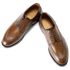 バーウィック Berwick1707 / スコッチグレインレザー外羽根Uチップシューズ「4168」(169 / ブラウン ) 靴 Uチップ メンズ ブランド | ビジネスシューズ 本革 ビジネス 革靴 レザーシューズ ブラウン フォーマル ダイナイトソール