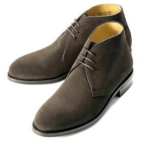 バーウィック Berwick1707 / スエードチャッカブーツ「320」(173/ ダークブラウン ) 靴 シューズ チャッカ ブーツ ブランド 茶 | チャッカブーツ スエード メンズ チャッカーブーツ デザートブーツ ビジネス ショートブーツ