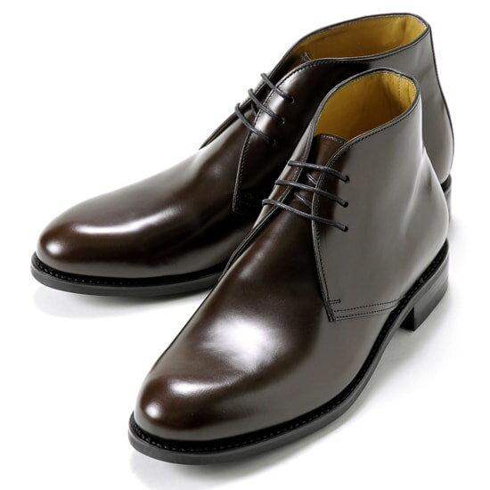 バーウィック Berwick1707 / バインダーカーフチャッカブーツ『320』(MARRON/ ダークブラウン )/ 靴 シューズ チャッカ ブーツ 黒 チャッカブーツ カーフ メンズ チャッカーブーツ デザートブーツ ビジネス ショートブーツ コードバン カジュアル ブランド