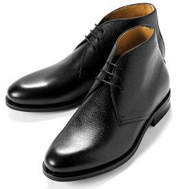 バーウィック Berwick1707 / アルパインカーフチャッカブーツ「320」(NEGRO/ ブラック )/ 靴 シューズ チャッカ ブーツ 黒 チャッカブーツ メンズ チャッカーブーツ デザートブーツ ビジネス ショートブーツ ダイナイトソール