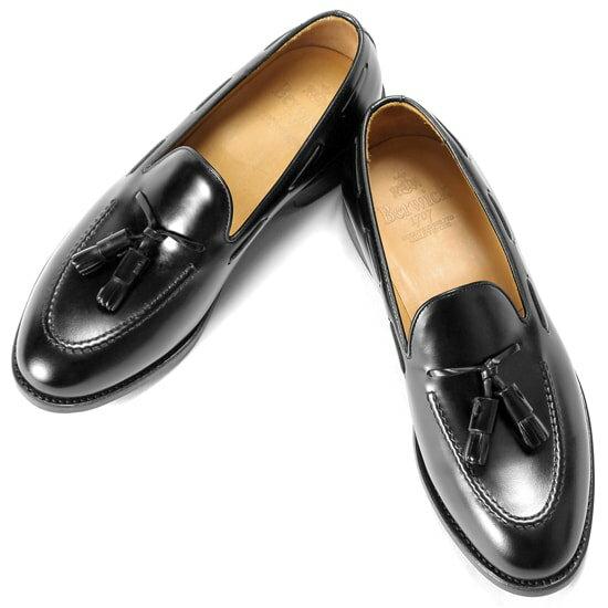 バーウィック Berwick1707 / バインダーカーフタッセルローファー『4171』(NEGRO/ ブラック ) 靴 シューズ タッセル ローファー 黒 | 本革 革靴 ビジネス カジュアル レザーシューズ スリッポン レザー ビジネスシューズ カジュアルシューズ メンズ ブランド