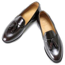 バーウィック Berwick1707 / バインダーカーフタッセルローファー「4171」(MARRON/ ダークブラウン ) 靴 シューズ タッセル ローファー 茶 / berwick 革靴 ビジネス カジュアル レザーシューズ スリッポン レザー コードバン コードヴァン