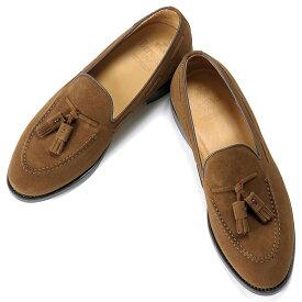 バーウィック Berwick1707 / スエードタッセルローファー「4171」(SNUFF/ ブラウン ) 靴 シューズ タッセル ローファー 茶 スエード / berwick 革靴 ビジネス カジュアル レザーシューズ スリッポン レザー ビジネスシューズ