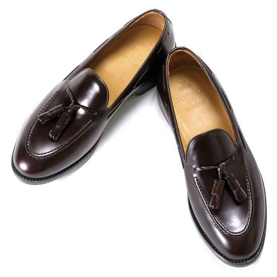バーウィック Berwick1707 / バインダーカーフタッセルローファー『4171』(BURDEOS/ バーガンディ ) 靴 シューズ タッセル ローファー / 本革 革靴 ビジネス カジュアル レザーシューズ スリッポン レザー ビジネスシューズ カジュアルシューズ メンズ ブランド