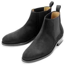 バーウィック Berwick1707 / スエードサイドゴアブーツ「351」(NEGRO/ ブラック ) 靴 サイドゴア ブーツ 黒 メンズ ブランド | サイドコアブーツ メンズブーツ スエード ダイナイトソール ビジネス ショートブーツ ビジネスシューズ 紳士靴