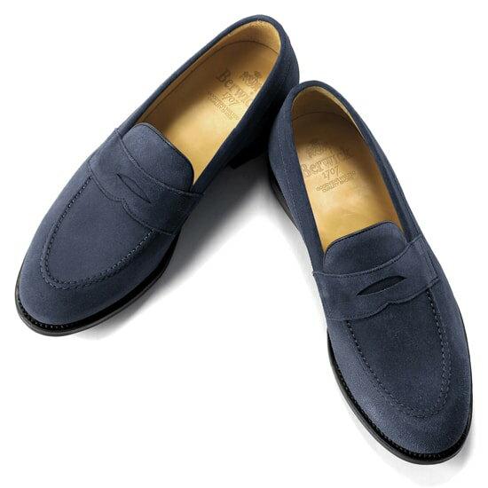 バーウィック Berwick1707 / スエードコインローファー『4172』ローファー メンズ ブランド   ローファ スエード ドレスシューズ フォーマルシューズ フォーマル コインローファー カジュアル カジュアルシューズ 紳士靴 メンズシューズ メンズカジュアルシューズ