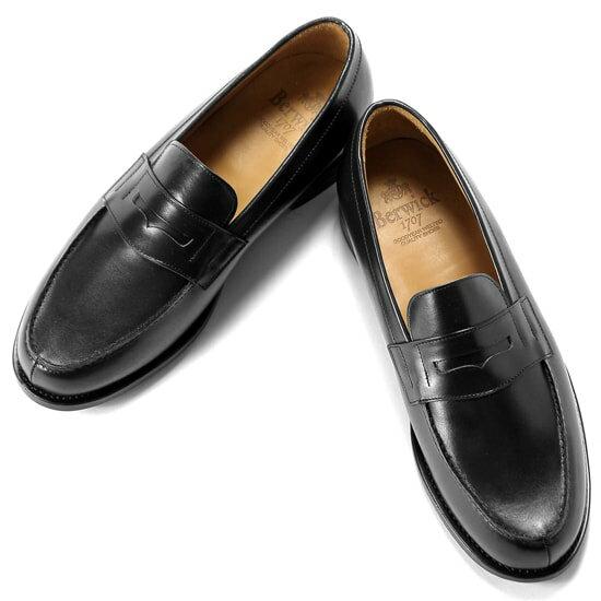 バーウィック Berwick1707 ボックスカーフフレンチコインローファー「4456」(NEGRO ブラック) 靴 シューズ ローファー   本革 革靴 ビジネス カジュアル レザーシューズ スリッポン レザー ビジネスシューズ カジュアルシューズ カジュアル メンズ ブランド