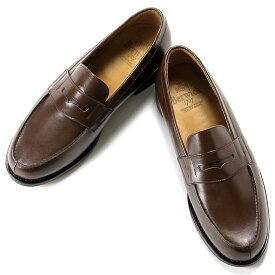 【ポイント10倍】バーウィック Berwick1707 / ボックスカーフフレンチコインローファー『4456』(NIGER/ ダークブラウン ) 靴 シューズ ローファー / berwick 革靴 ビジネス カジュアル レザーシューズ スリッポン レザー カジュアルシューズ カジュアル メンズ