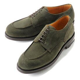 バーウィック Berwick1707 / スエードフレンチ外羽根Uチップシューズ「4410」(OLIVE/オリーブ) ダイナイトソール スエード 靴 Uチップ メンズ ブランド 本革 革靴 レザーシューズ ビジネス 紳士靴| ビジネスシューズ メンズシューズ ビジネス靴