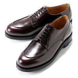 バーウィック Berwick1707 / バインダーカーフフレンチ外羽根Uチップシューズ『4410』(BURDEOS/バーガンディ) ダイナイトソール リッジウェイ 靴 Uチップ メンズ ブランド オンオフ兼用 コードバン 革靴 レザーシューズ ビジネス 紳士靴 シューズ