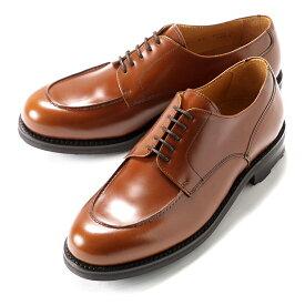 バーウィック Berwick1707 / バインダーカーフフレンチ外羽根Uチップシューズ「4410」(NOBEL/ライトブラウン) ダイナイトソール 靴 Uチップ メンズ ブランド 革靴 レザーシューズ ビジネス 紳士靴| ビジネスシューズ メンズシューズ ビジネス靴