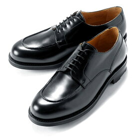 バーウィック Berwick1707 / バインダーカーフフレンチ外羽根Uチップシューズ「4410」(AZUL/ダークネイビー) ダイナイトソール リッジウェイ 靴 Uチップ メンズ ブランド オンオフ兼用 コードバン 革靴 レザーシューズ ビジネス 紳士靴 シューズ