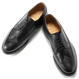 バーウィック Berwick1707 / アルパインカーフアメリカンブローグシューズ「4550」(NEGRO/ブラック) ダイナイトソール 靴 ウィングチップ メンズ ブランド オンオフ兼用 革靴 レザーシューズ ビジネス メンズシューズ 紳士靴 シューズ ブランド靴