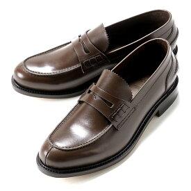 【ポイント10倍】バーウィック Berwick1707 / ボックスカーフビーフロールコインローファー『4821』(NIGER/ダークブラウン) ローファー メンズ ブランド ビーフロール ローファ ドレスシューズ フォーマル コインローファー カジュアル カジュアルシューズ 紳士靴