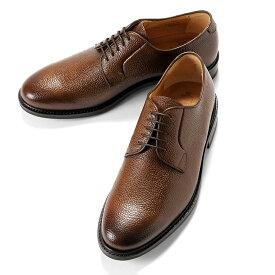 バーウィック Berwick1707 / スコッチグレインレザー外羽根プレーントゥシューズ「5768」(561/ライトブラウン) ダイナイトソール 靴 メンズ ブランド オンオフ兼用 革靴 レザーシューズ ビジネス メンズシューズ