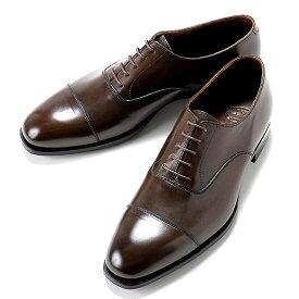 クロケット&ジョーンズ CROCKETT&JONES / 【国内正規品】 アンティークカーフストレートチップ「AUDLEY 3(HAND GRADE)」(DARK BROWN/ダークブラウン) / 英国 靴 レザー シューズ グッドイヤー オードリー