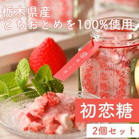 初恋糖【2個セット】苺 いちご イチゴ フリーズドライ とちおとめ入り グラニュー糖
