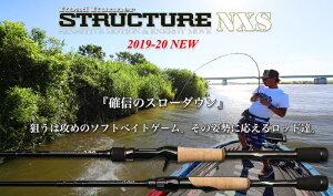 ノリーズ ストラクチャーNXS STN660M−St ベイトフィネススペシャル ソリッドティップベイトキャスティングモデル