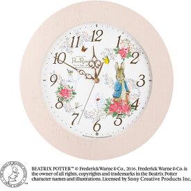 セイコークロック☆ピーターラビット電波掛け時計☆ビアトリクス・ポター生誕150周年☆正規品☆CL613P