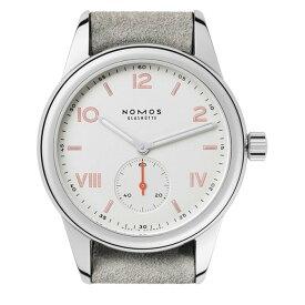 【あす楽】NOMOS ノモス クラブキャンパス 36ミリ ホワイトシルバー文字盤 手巻き ドイツ製 日本国内正規品 2年保証 腕時計 CL1A1W2CP