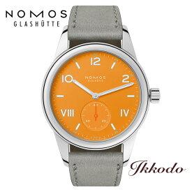 NOMOS ノモス クラブ キャンパス フューチャーオレンジ 36ミリ 手巻き ドイツ製 正規品 2年保証 CL1A1FO1CP 日本国内正規品 腕時計