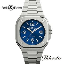 ベル&ロス Bell & Ross BR05 自動巻き ステンレスケース&ブレス 40mm ブルー文字盤 100m防水 日本国内正規品 2年保証 メンズ腕時計 BR05A-BLU-ST/SST【BR05ABLUSTSST】