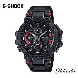 【あす楽】G-SHOCK Gショック カシオ MT-G 電波ソーラー 樹脂/カーボンケース 樹脂/メタルブレスレット カーボンベゼル 51.7mm 20気圧防水 トリプルGロック ネオブライト スマートフォンリンク 国内正規品 腕時計 MTG-B1000XBD-1AJF 【MTGB1000XBD1AJF】