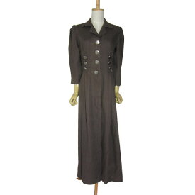 8614f5499f6fb ヨーロッパ Seeshaupter 前開き リネン チロル ワンピース レディースM位 古着 民族衣装 ディアンドル ドレス