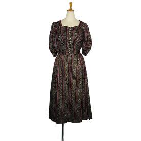 f44ea28eacbf1  中古 チロル ワンピース レディース サイズXS位 ヨーロッパ 古着 民族衣装 ディアンドル オクトーバー