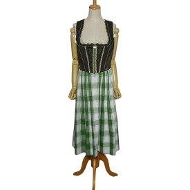 【中古】 Spieth & Wensky チロル ワンピース レディースL位 ヨーロッパ 民族衣装 ディアンドル 古着 【異国屋】