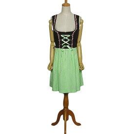 【中古】 STOCKERPOINT チロル ワンピース レディースL位 ヨーロッパ 民族衣装 ディアンドル 古着 【異国屋】