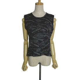 【中古】 ハーレーダビッドソン Tシャツ HARLEY DAVIDSON レディース XLサイズ 古着 トップス ノースリーブ ティーシャツ 黒色 【異国屋】