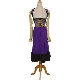 【中古】WENDELSTEIN DIRNDL ディアンドル チロル ワンピース レディース Sサイズ位 ヨーロッパ 古着 民族衣装 ドレス